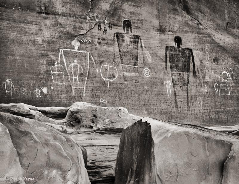 big,man,panel,colorado,plateau,ancestral,puebloan,rock,art, photo