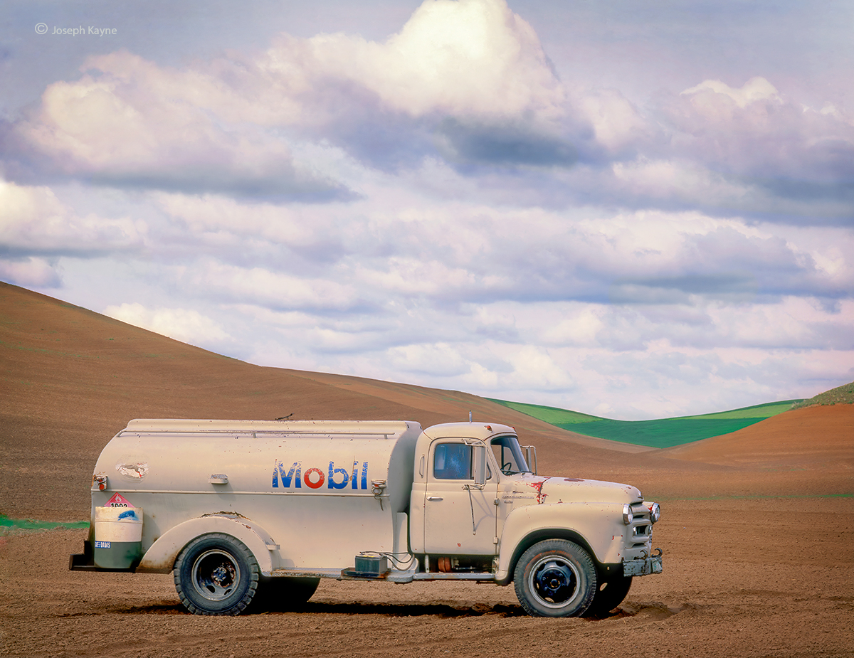 Old Gasoline Truck,Palouse Region