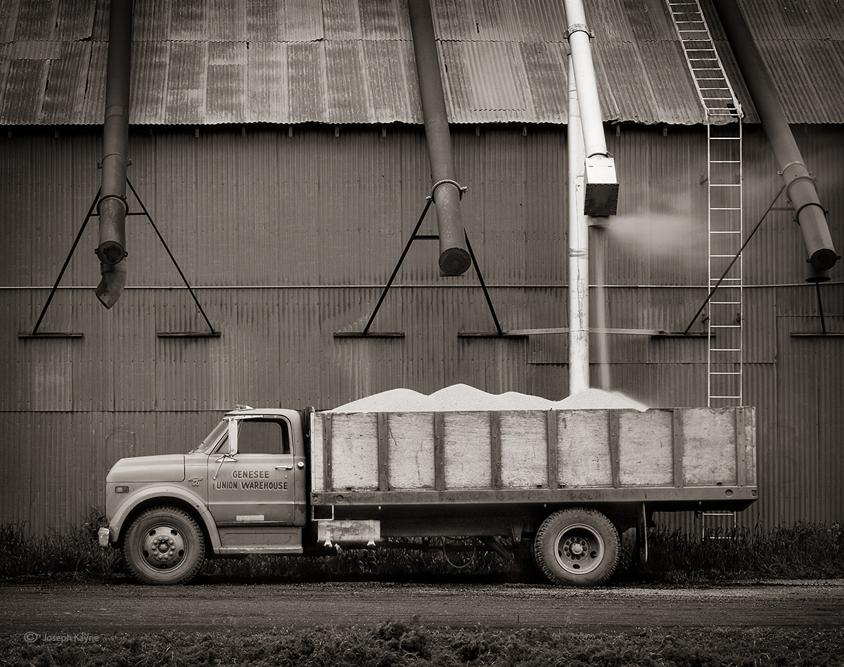Old Grain Truck,Palouse Region,Genesee, Idaho