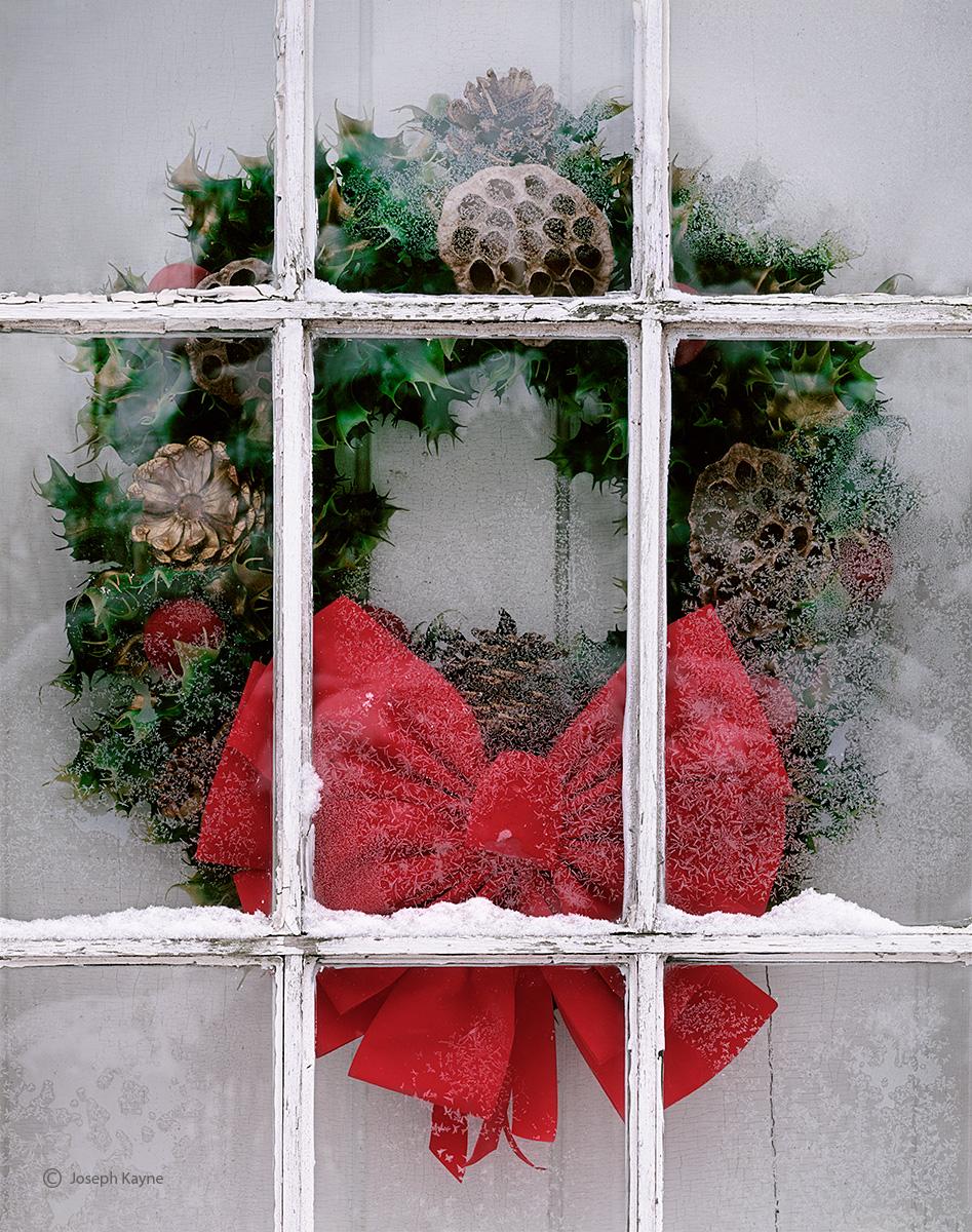 farmhouse,wreath,indiana, photo