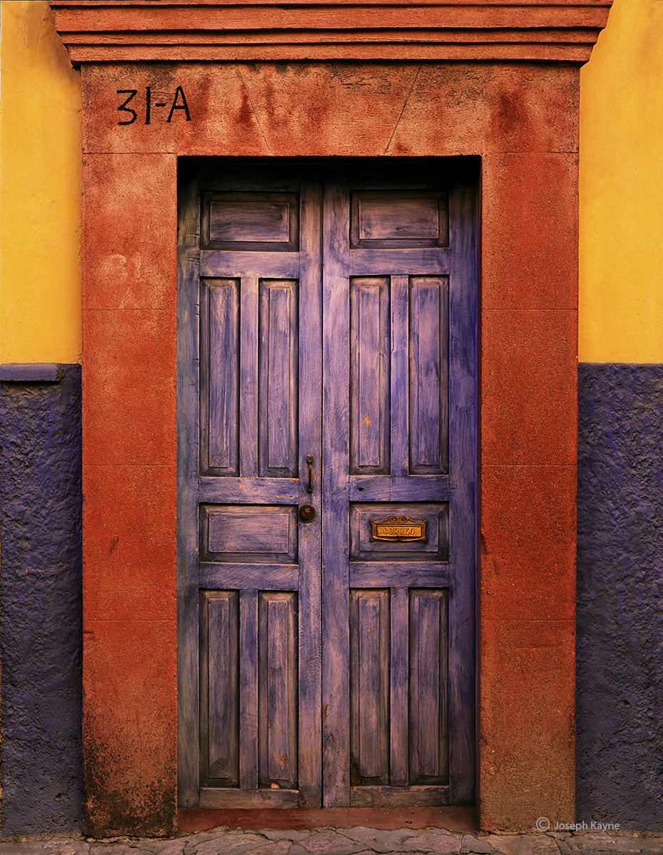 blue,door,mexico,colonial, photo