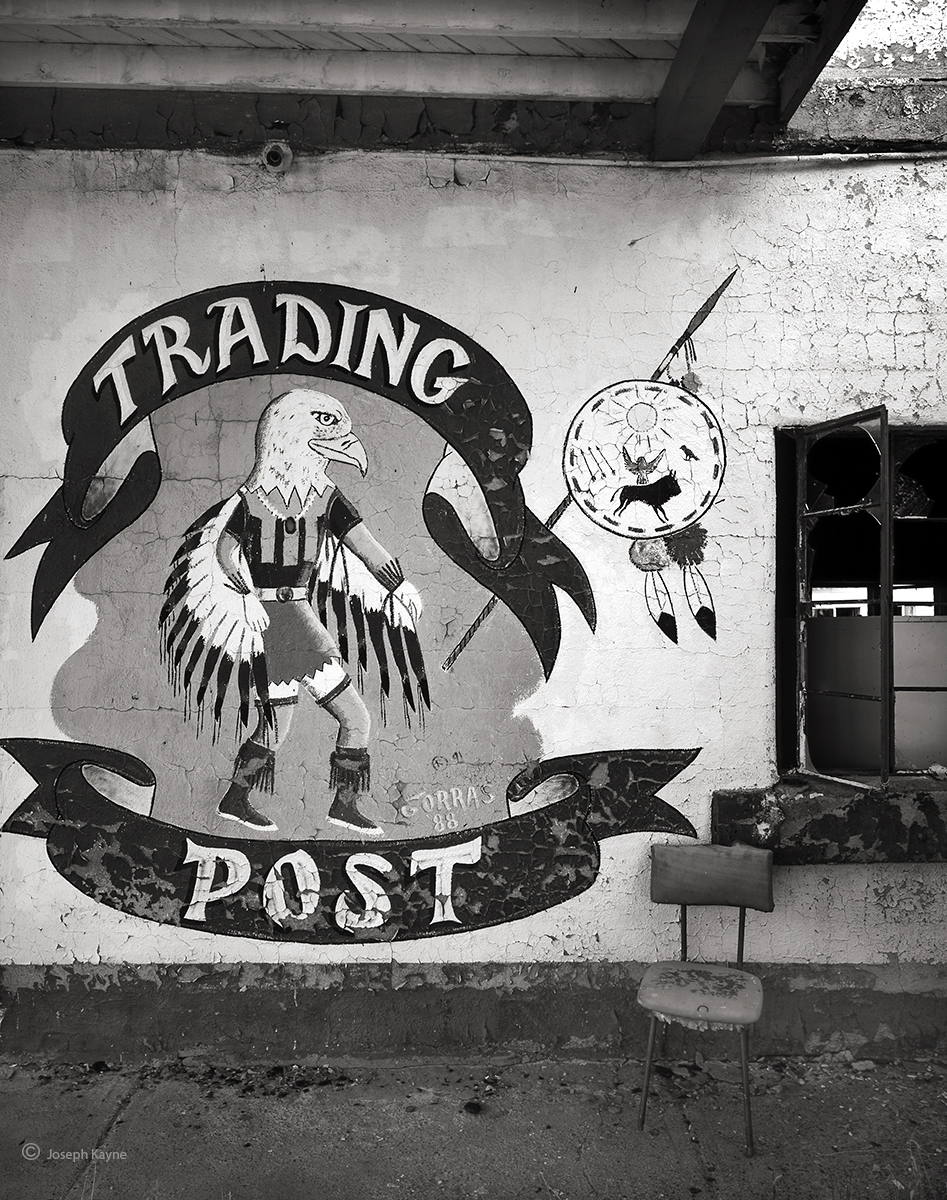 old,trading,post,abandoned, photo