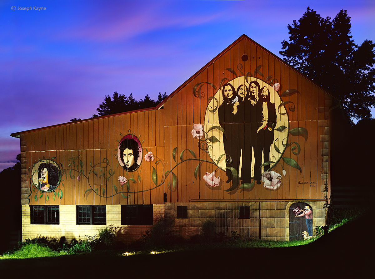 night,concert,ohio,barn, photo