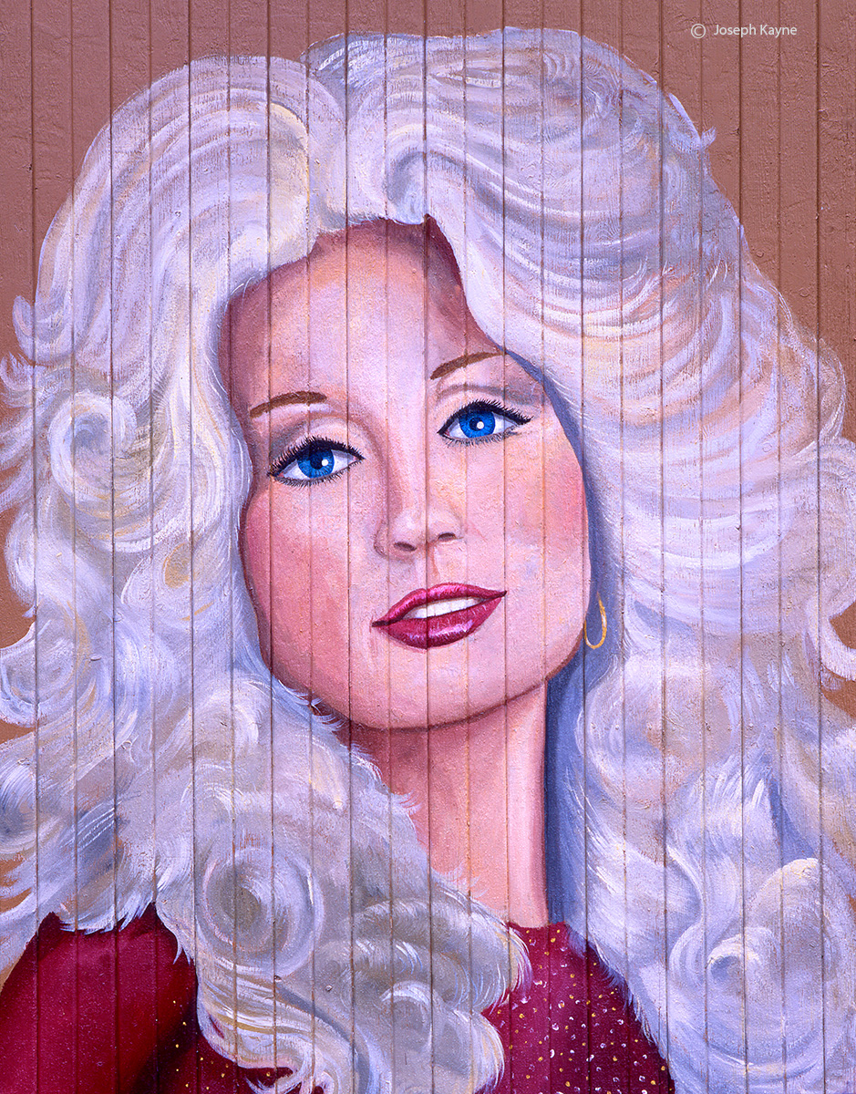 young,dolly,parton,barn,art,ohio, photo