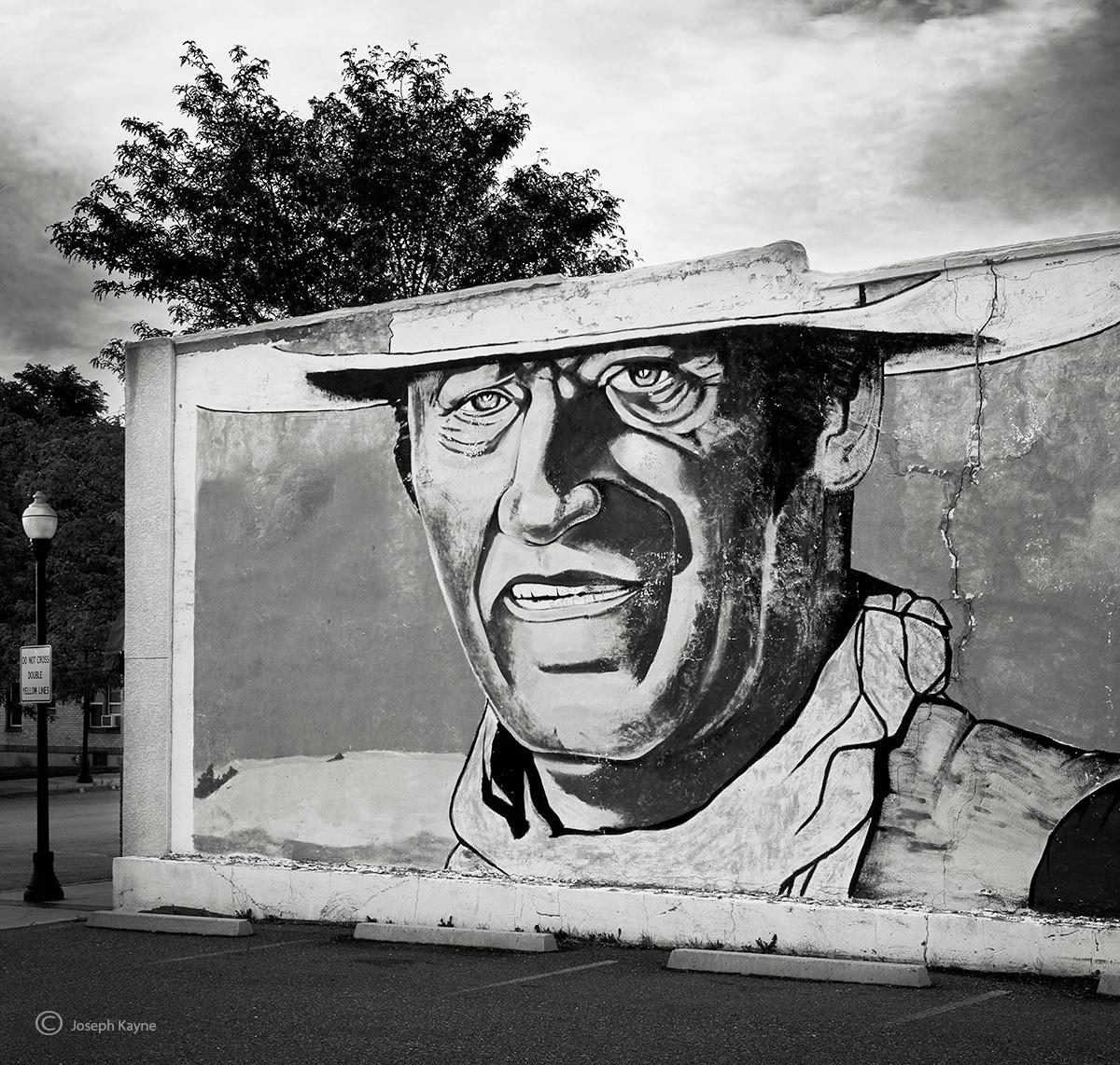 John Wayne Mural