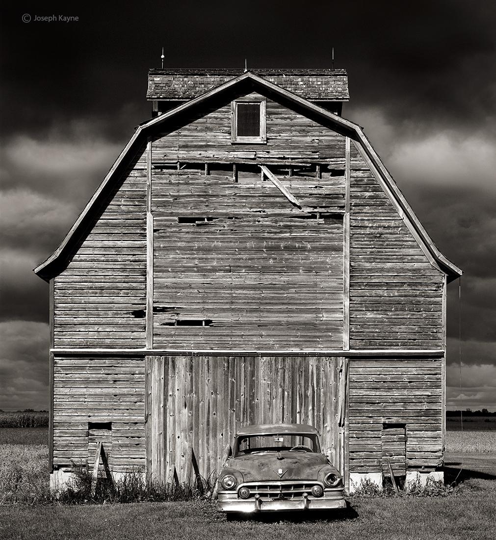 cadillac,barn,illinois,corn,crib, photo