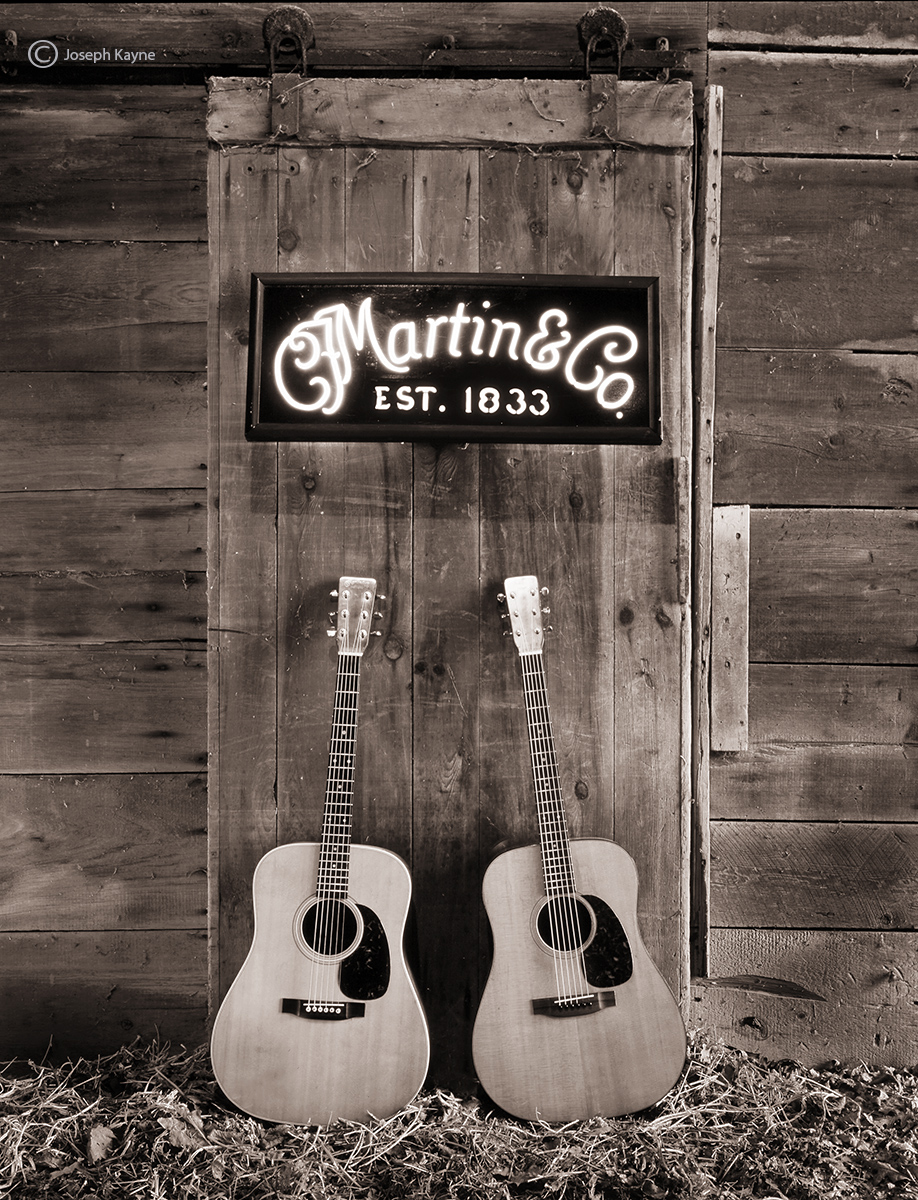 old,martin,guitars,americana, photo