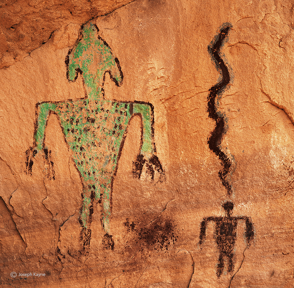 green,man,colorado,plateau,ancestral,puebloan,site, photo