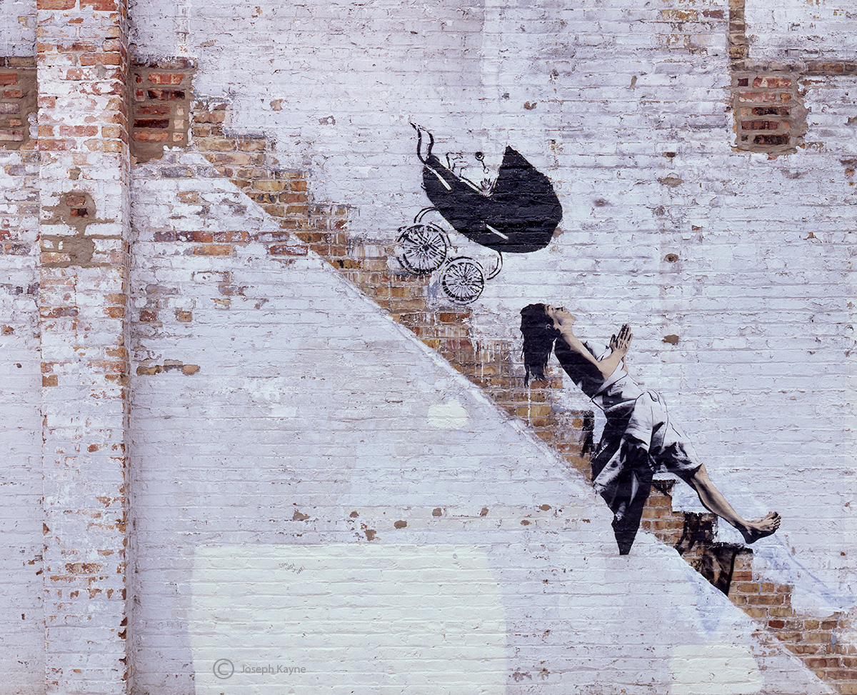 banksy,chicago,street,art, photo