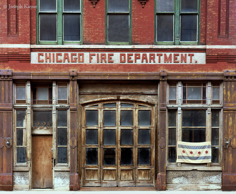 old,fire,station, photo