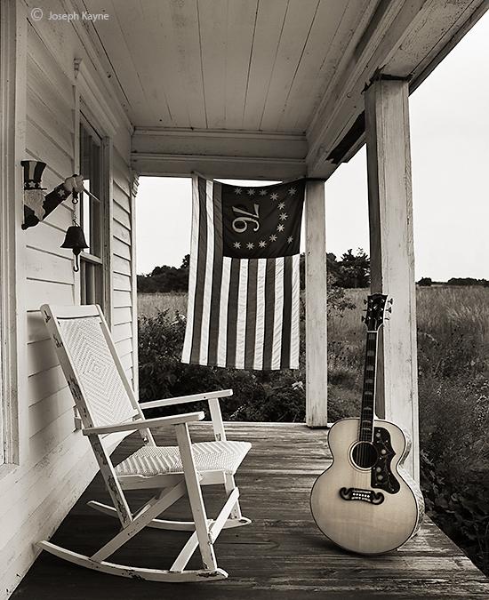 gibson,sj,200,farmhouse,porch,independence,day,prairie, photo
