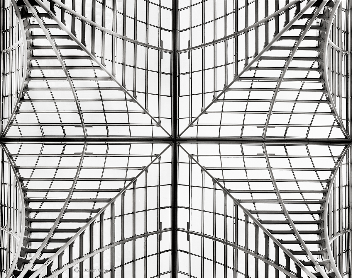 Glass Ceiling in a Chicago Building