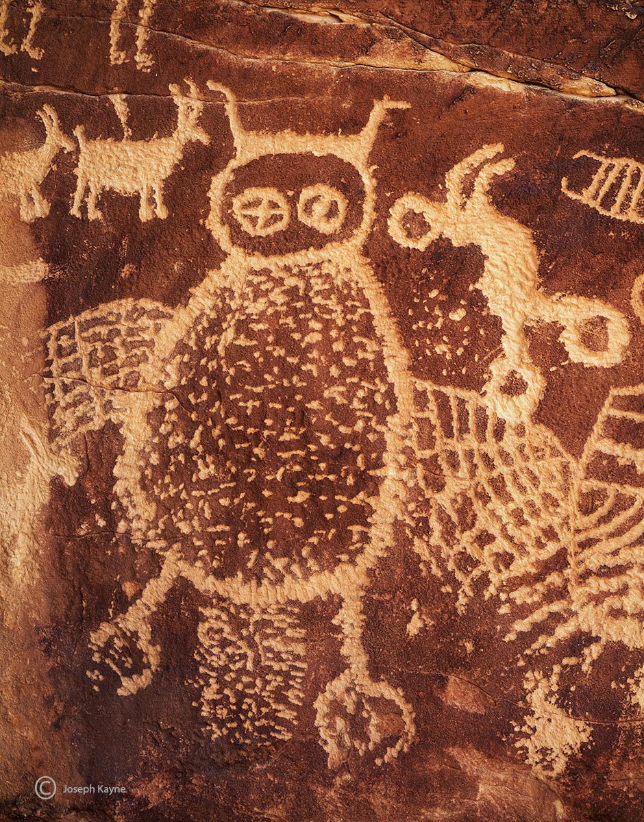 Fremont Owl Petroglyph