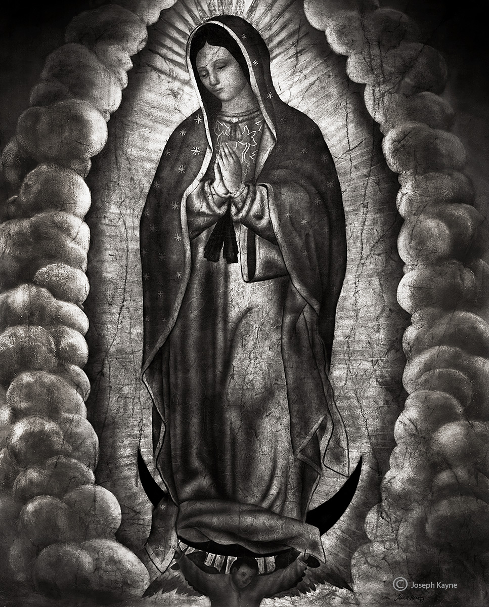 virgin,guadalupe,chicago,church,mural, photo
