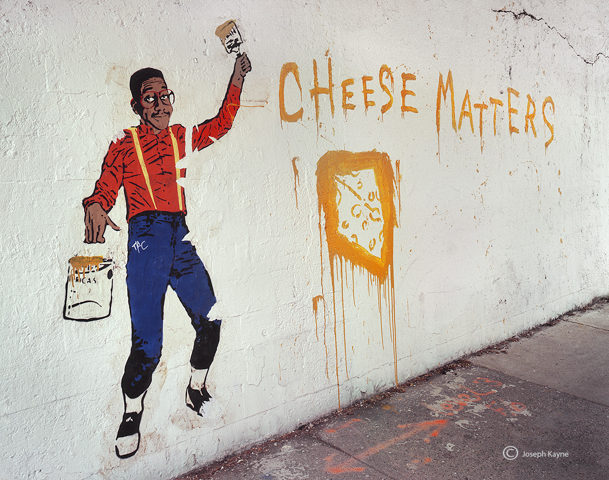 urkel,chicago,street,art,cheese,matters, photo