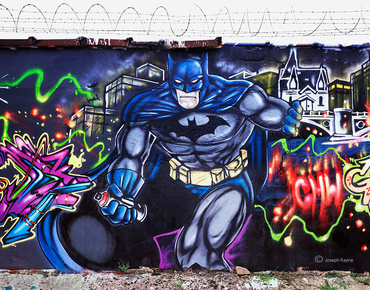 dark,knight,chicago,street,art, photo