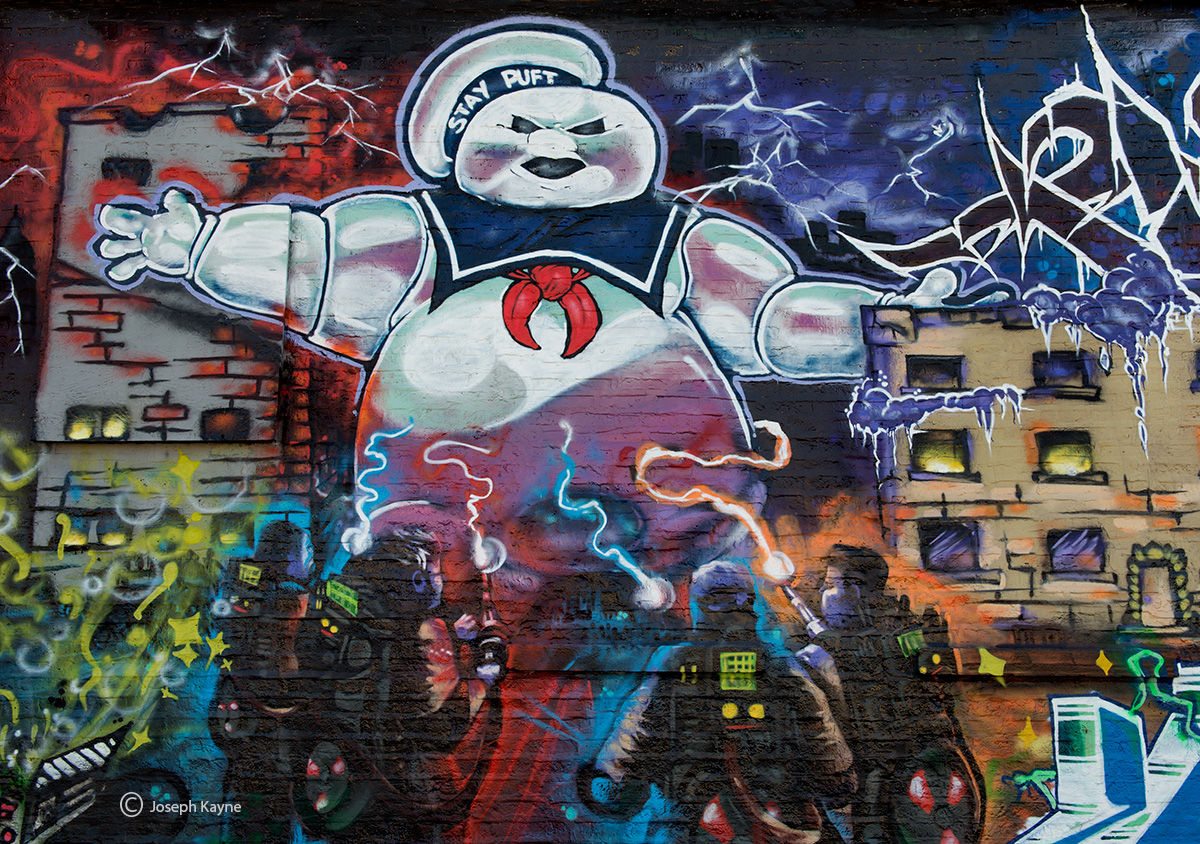 chicago,street,art,ghostbusters, photo