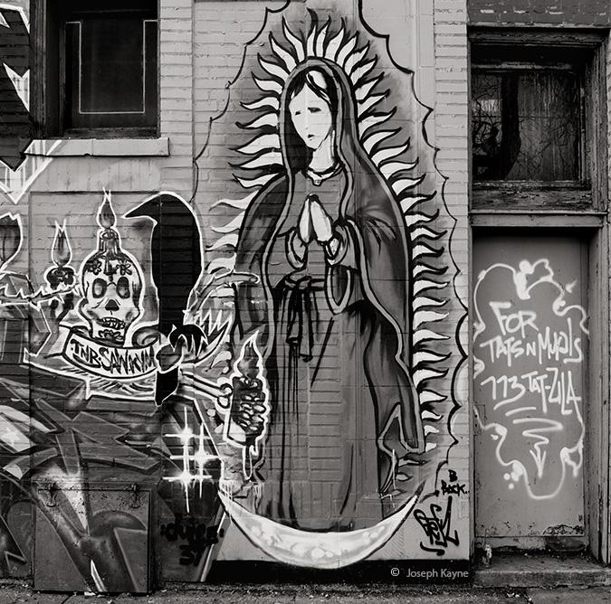 Virgin Guadalupe Mural