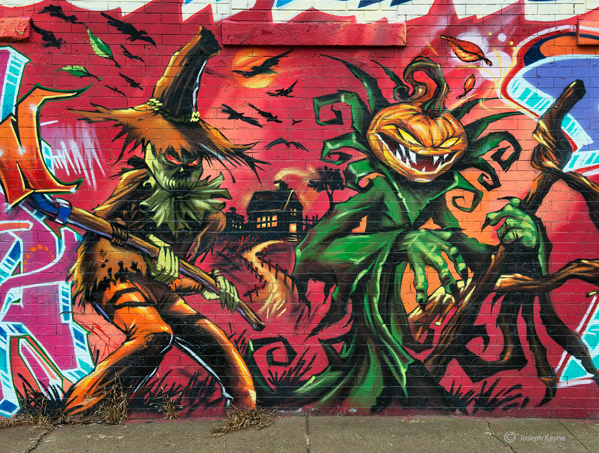 halloween,graffiti,chicago,street,art, photo