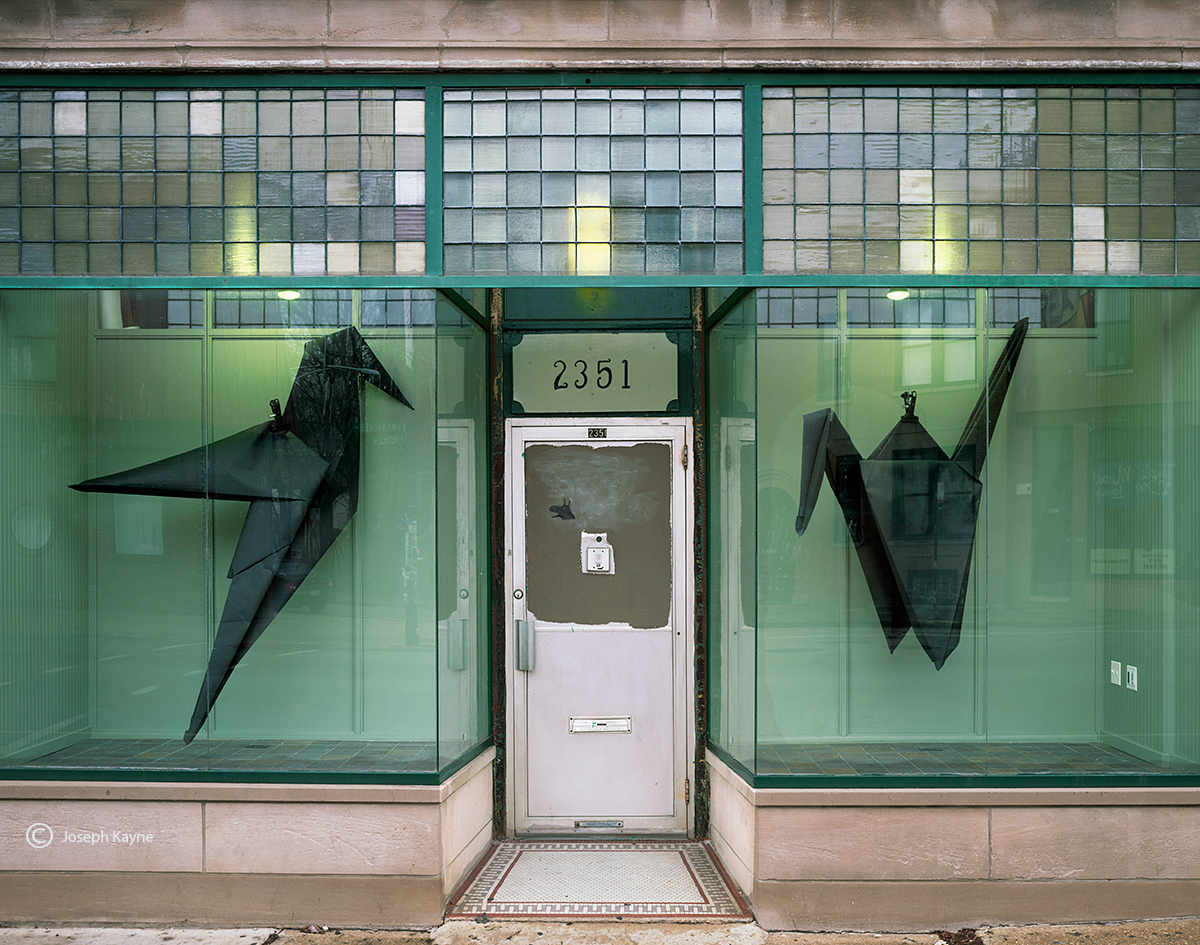origami,chicago,storefront, photo
