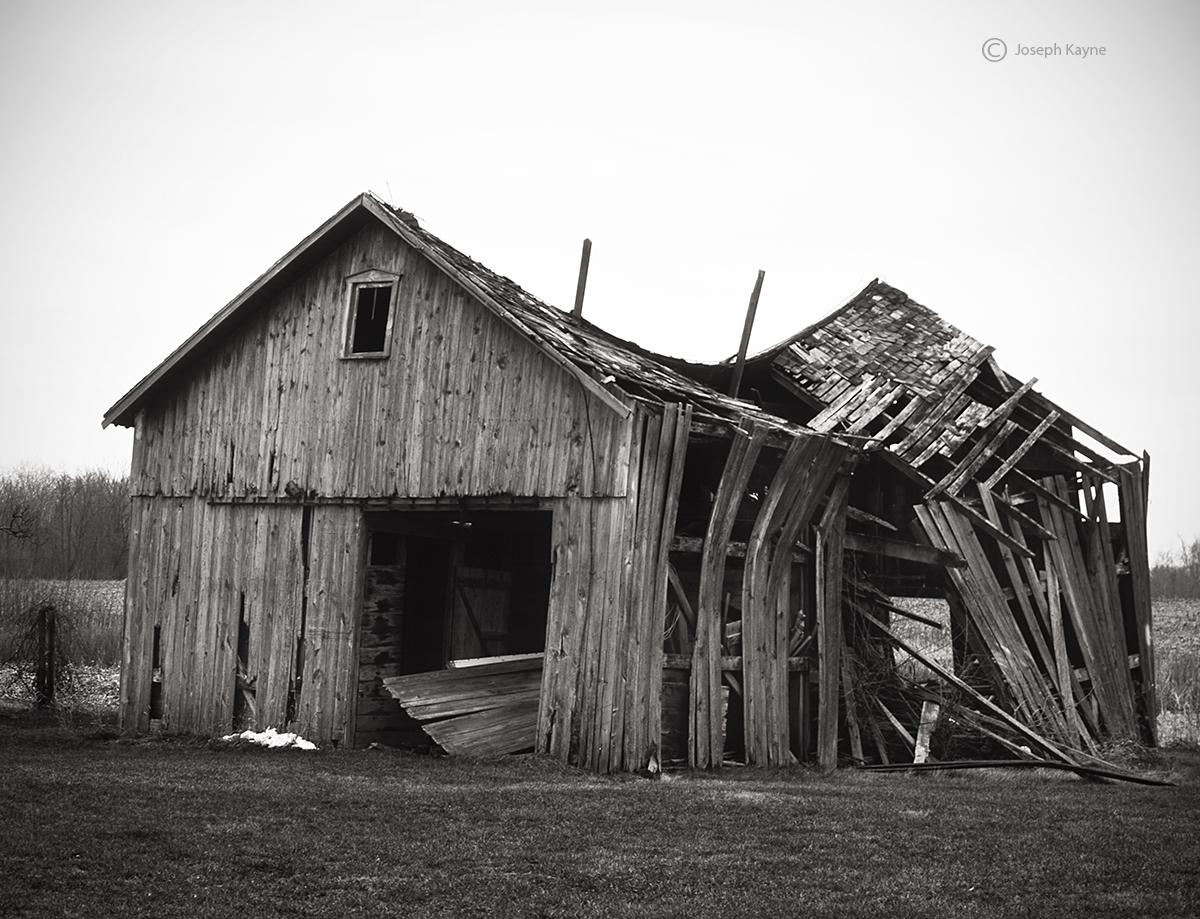 The Old Swayback Barn Indiana Joseph Kayne Photography