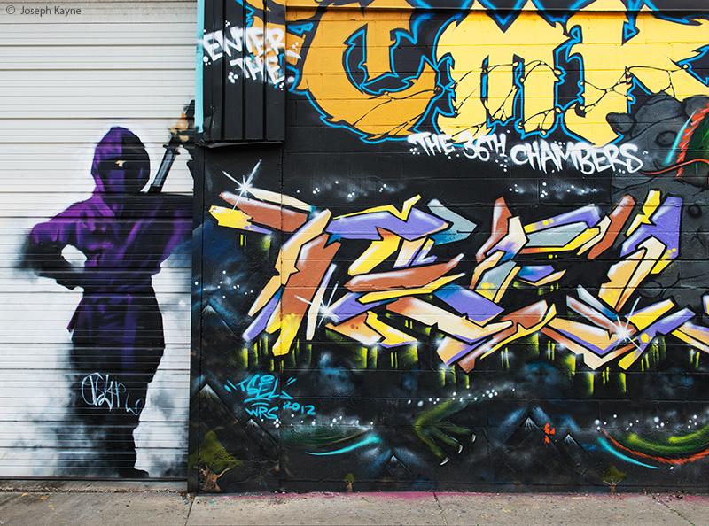 ninja,graffiti,chicago, photo