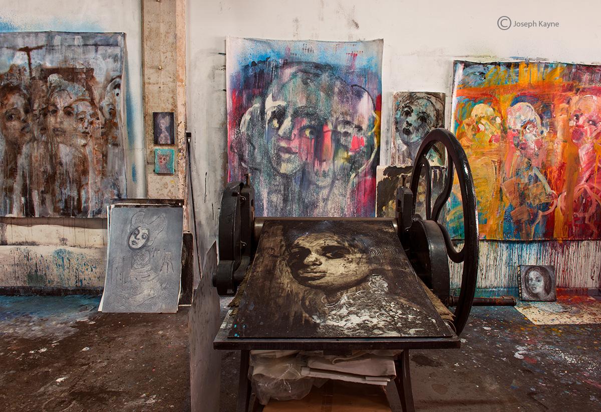 artist,studio,III,chicago,corinna,button, photo