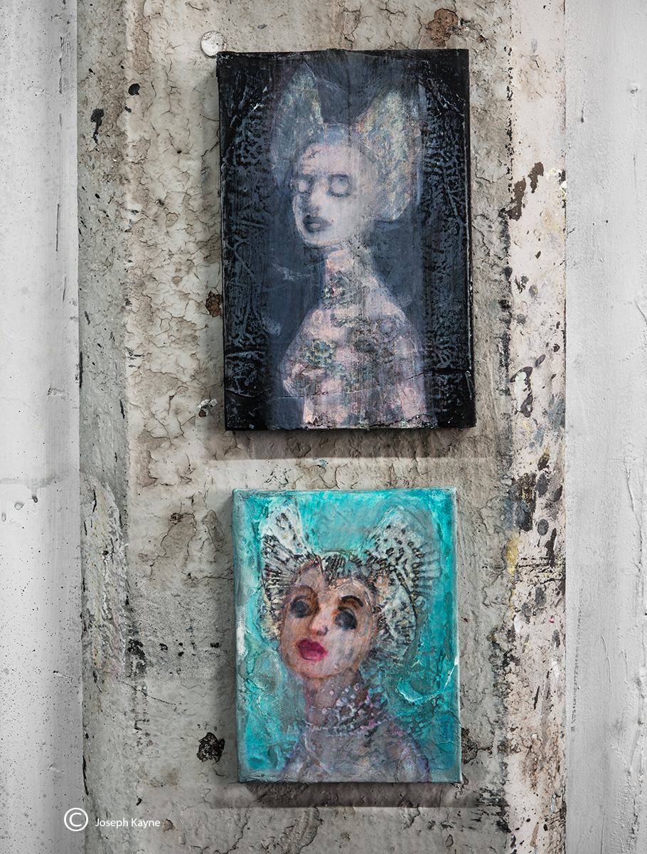 Two Paintings, Corinna Button
