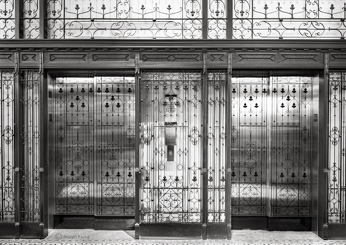 burnham,elevator,chicago, photo