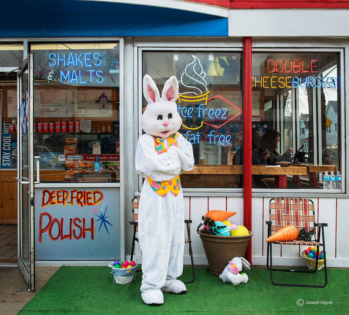 eater,bunny,chicago, photo