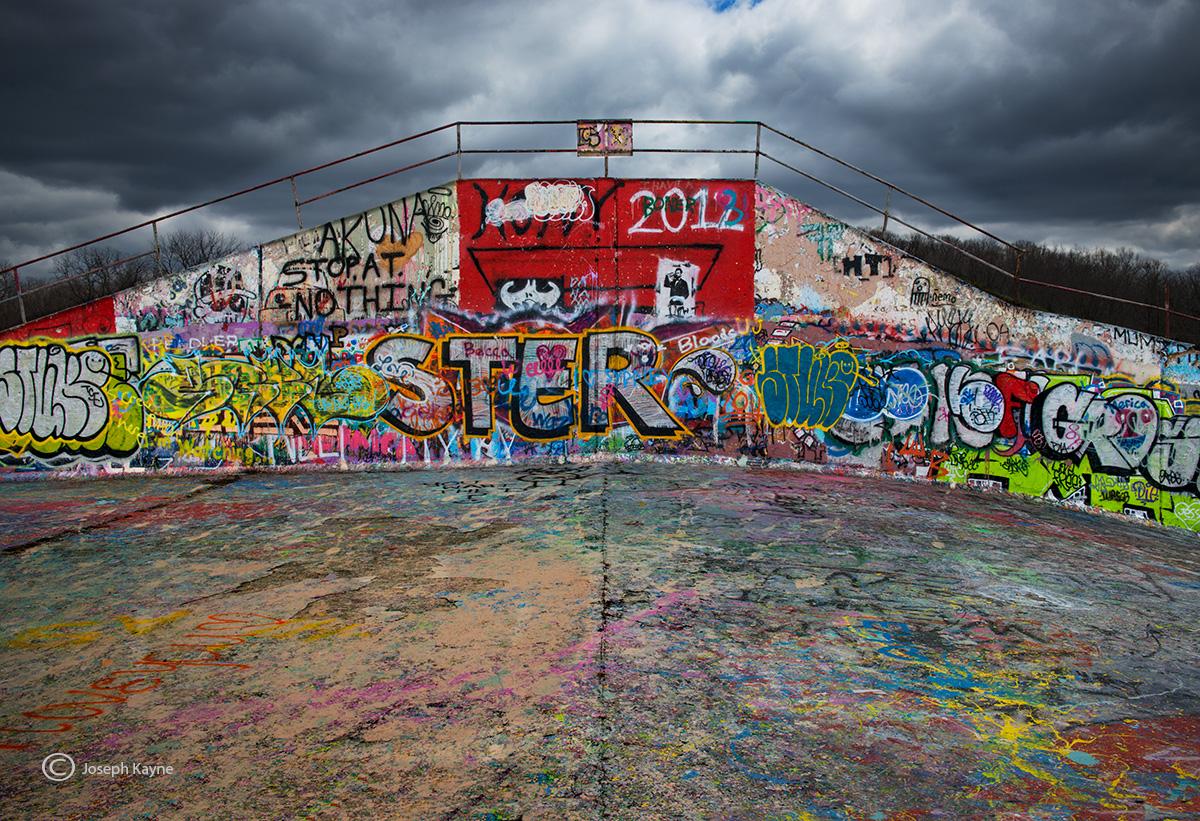 The Graffiti Wall