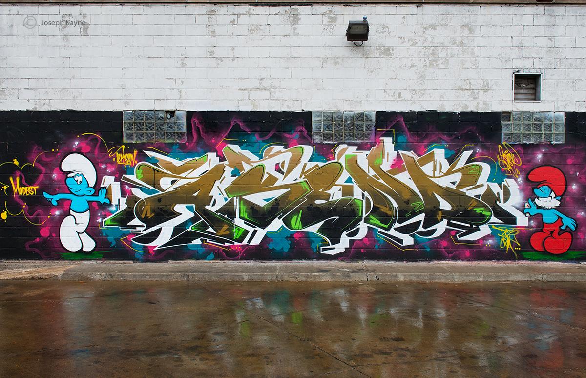 smurf,chicago,street,art, photo