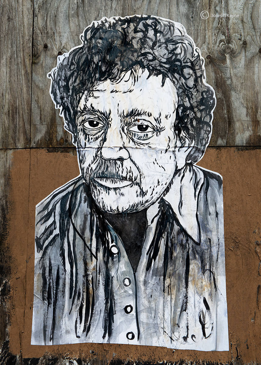kurt,vonnegut,street,art,chicago, photo
