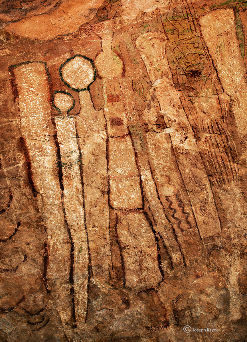 Ancient Rock Art From Aound 1000 BC