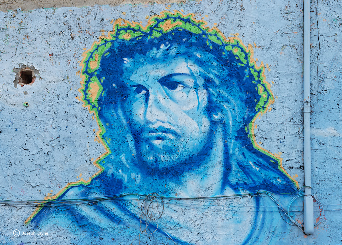 jesus,chicago,street,art,mural, photo