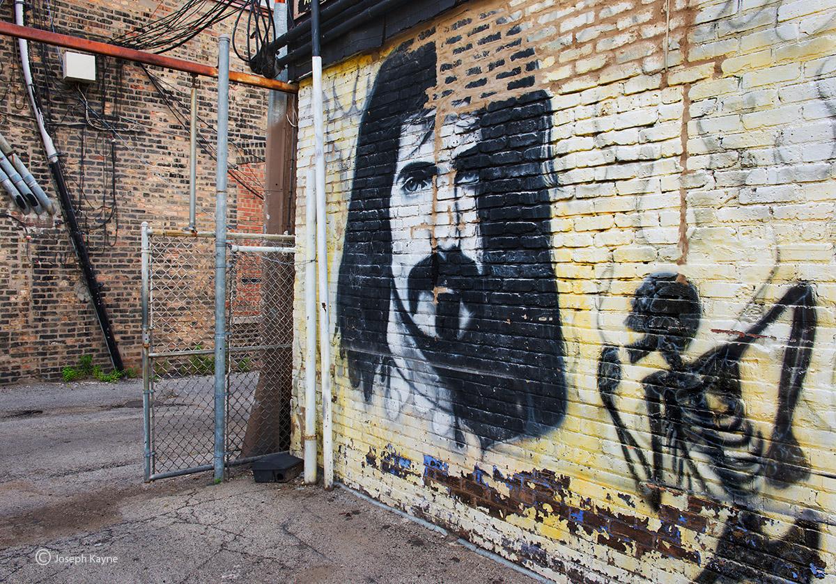 ghost,frank,zappa,chicago,street,art,mural,graffiti, photo