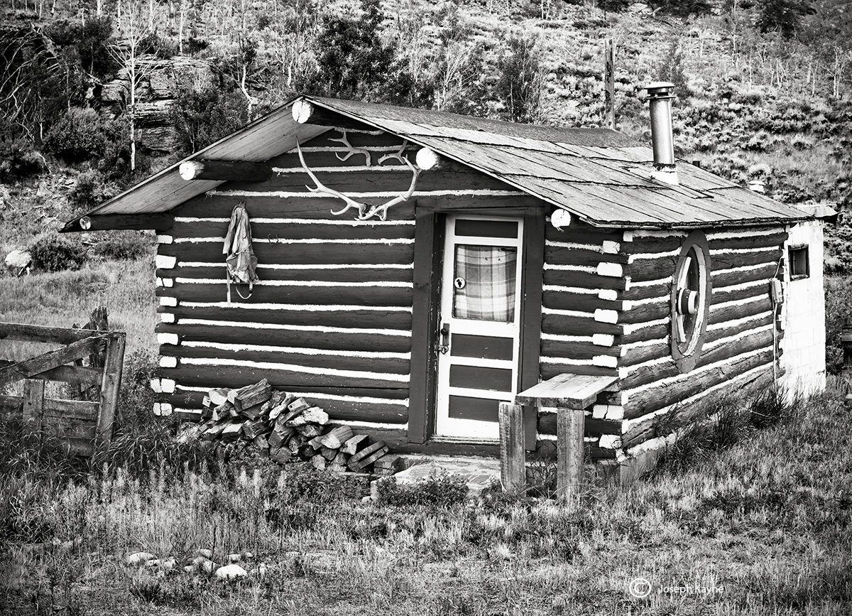 crested,butte,cabin,colorado, photo
