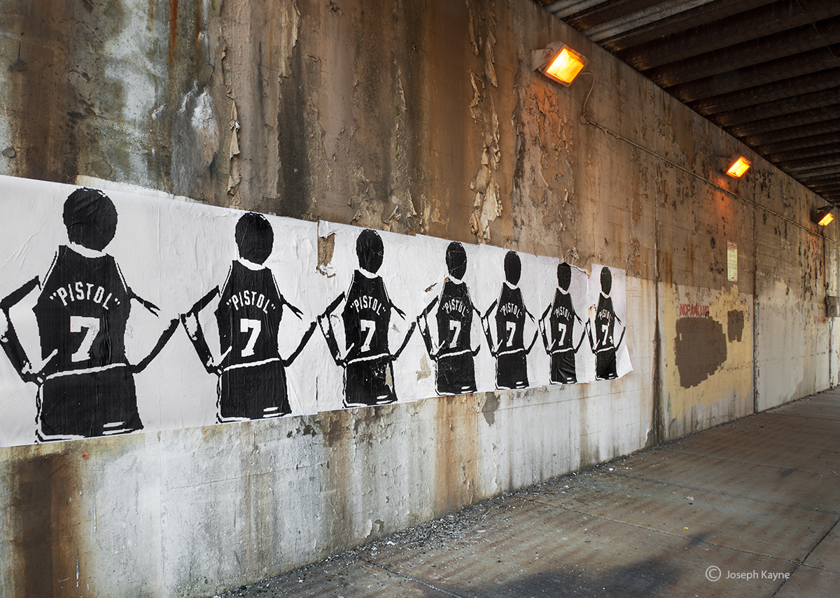 pistol,pete,maravich,street,art,chicago, photo