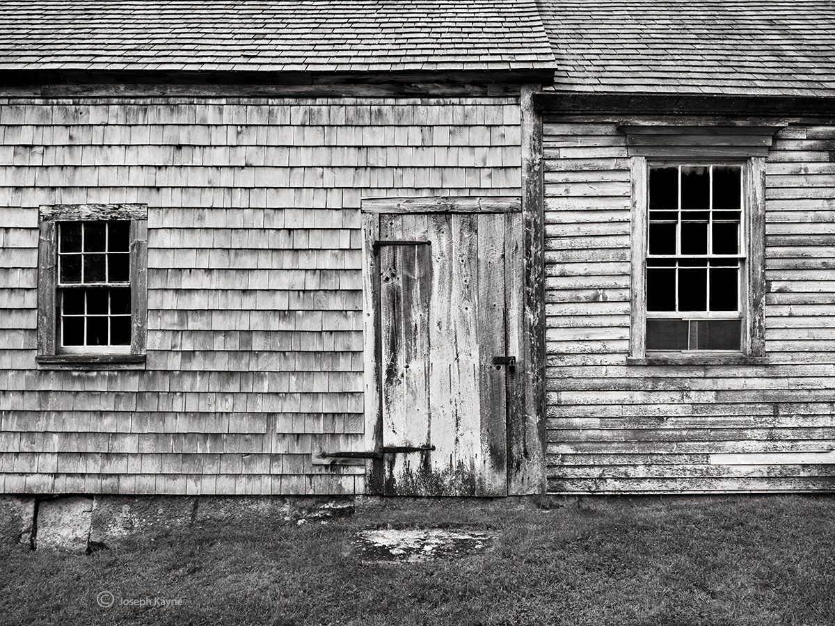 back,door,olson,house,maine, photo