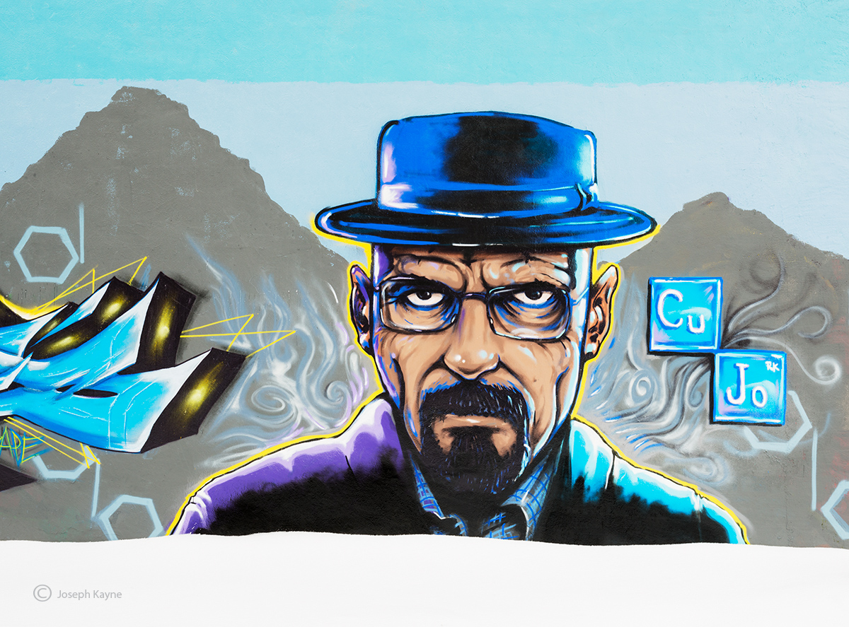heisenberg,breaking,bad,graffiti,chicago,Cujodah, photo