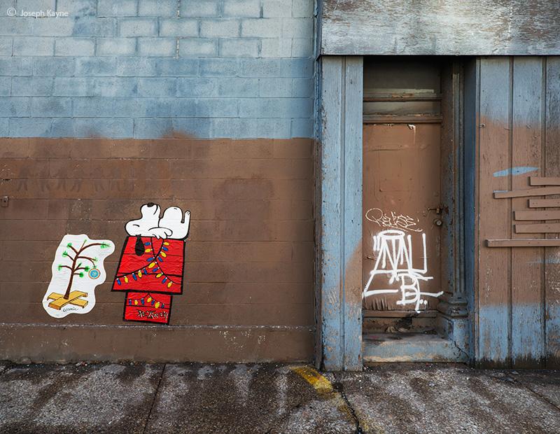 charlie,brown,christmas,chicago,street,art, photo