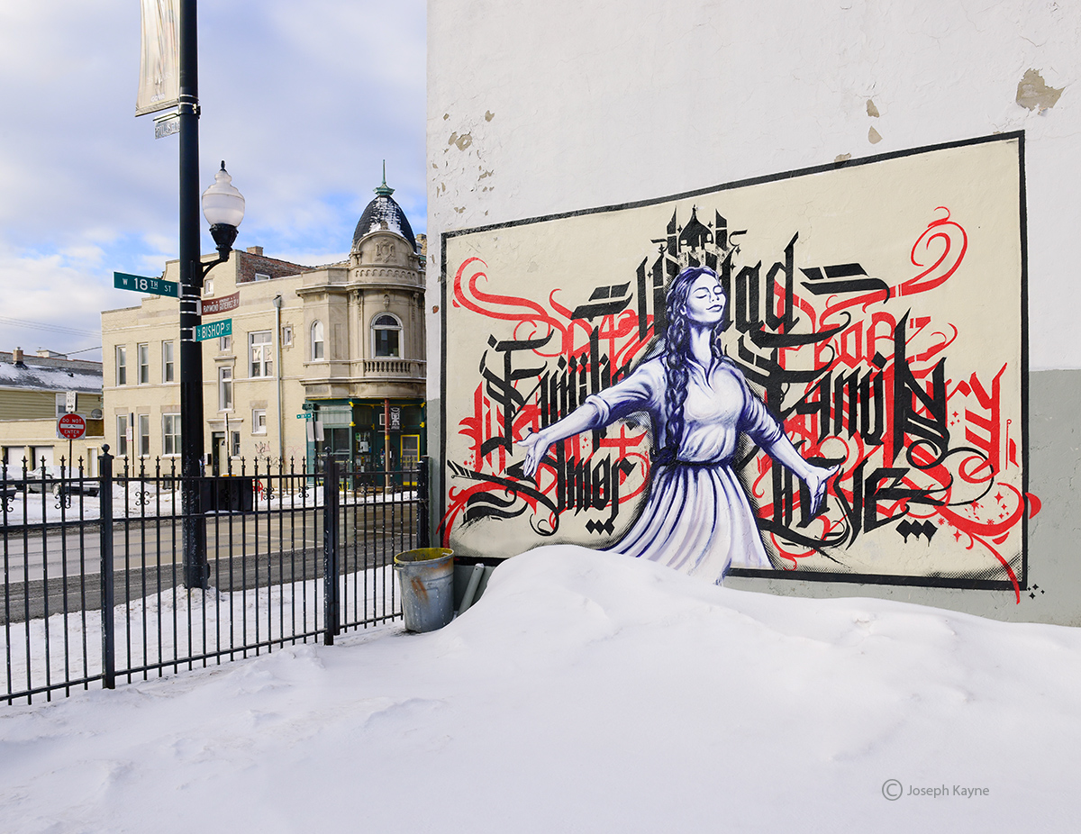 pilsen,street,art,chicago,winter, photo