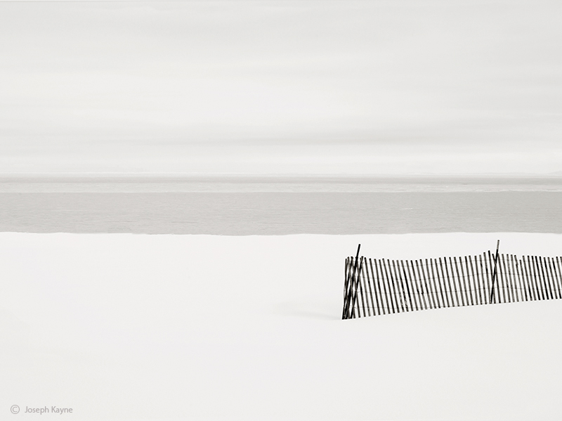 Snow Fence,Lake Michigan