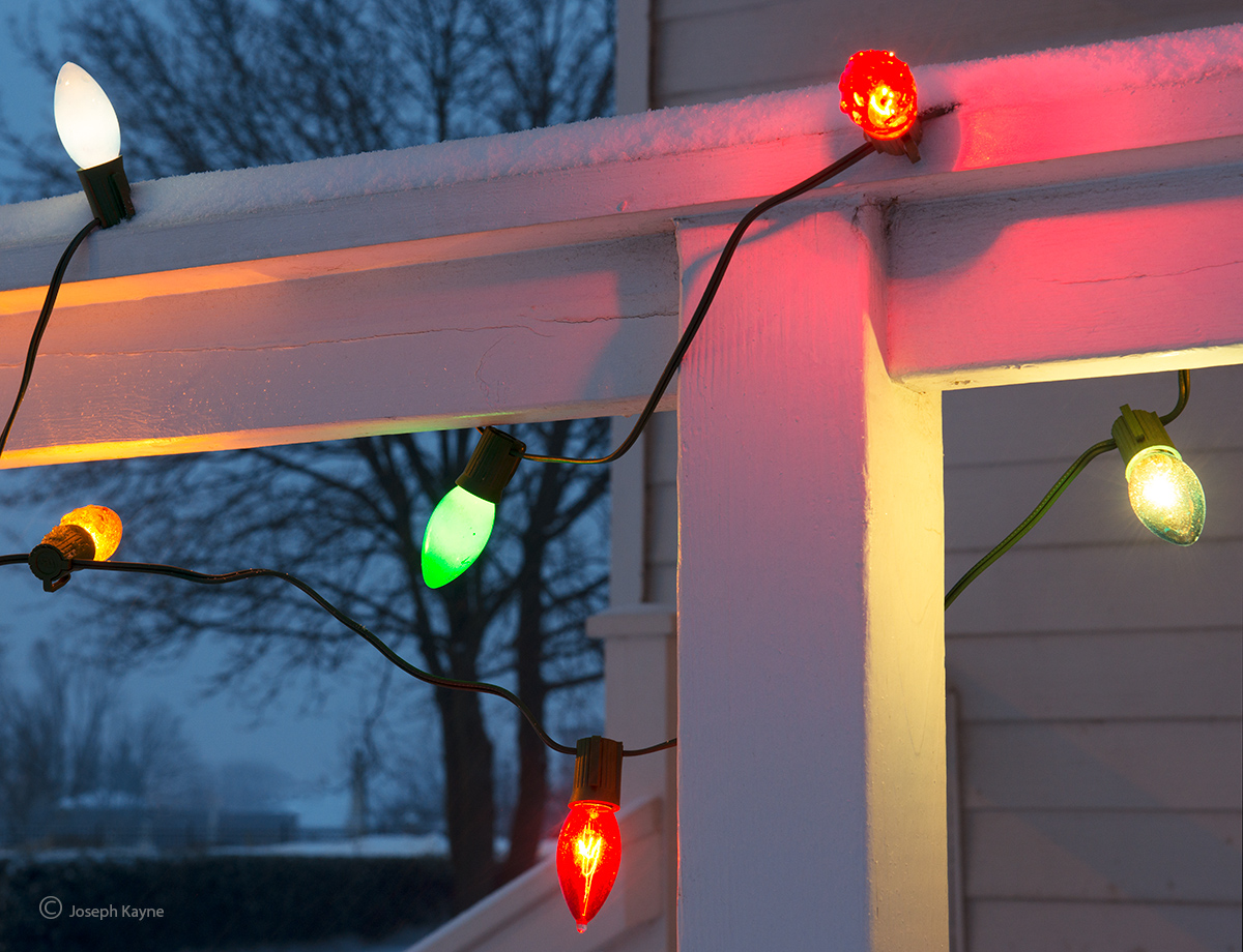 christmas,lights,farmhouse,porch,illinois, photo