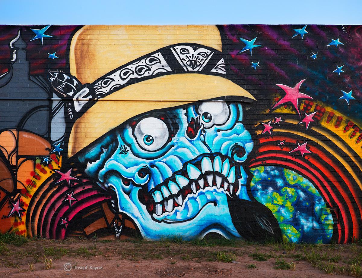 Skeleton,arizona,street,art, photo