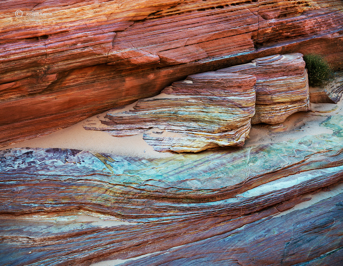 big,rock,cancy,mountain,colorful,aztec,sandstone,formations,southwest,USA, photo