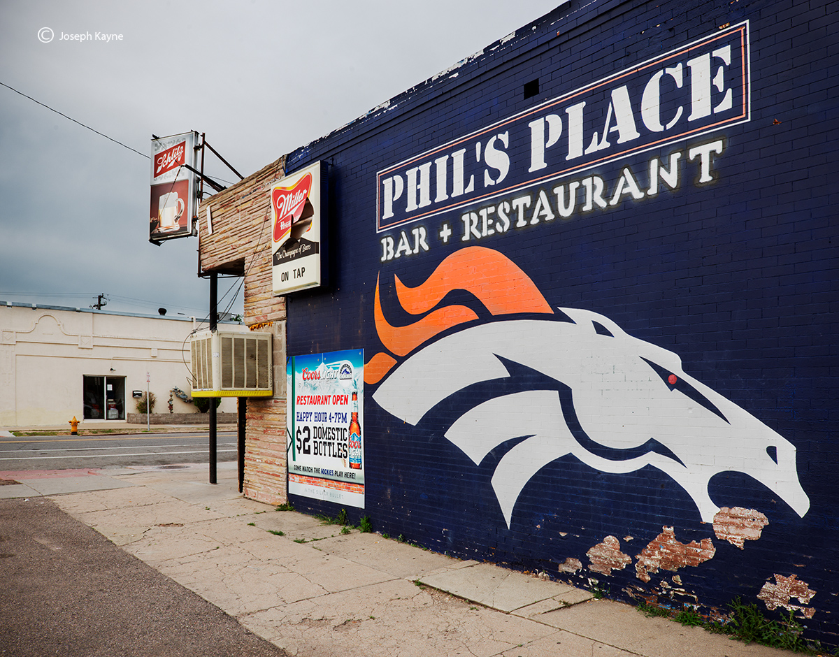 Denver Bronco Street Art, photo