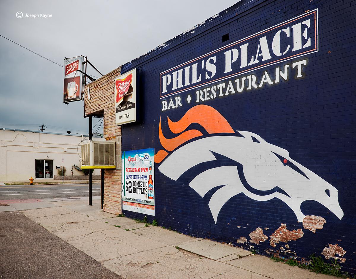Denver Bronco Street Art, photo