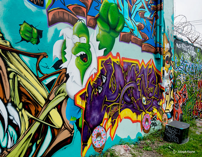homer,simpson,the,hulk,graffiti,mural,chicago, photo