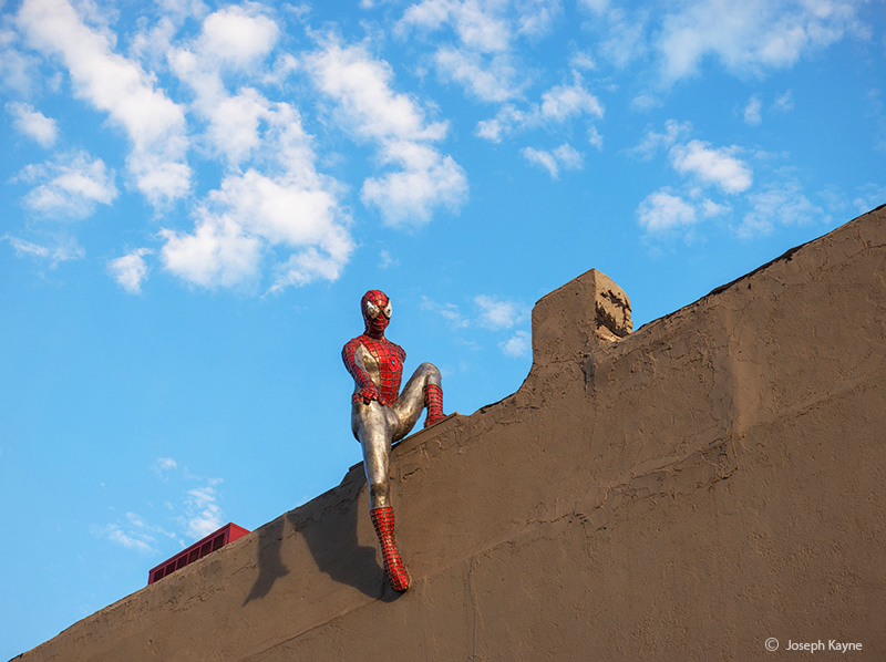 denver,street,art,spiderman, photo